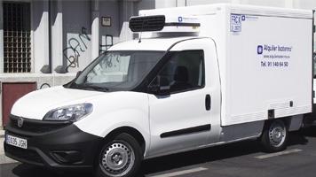 Alquiler furgoneta isotermo Barcelona