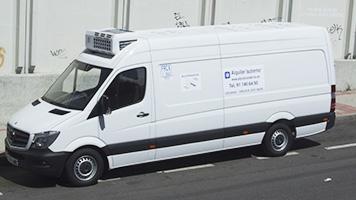 alquiler de furgonetas frigorificas madrid